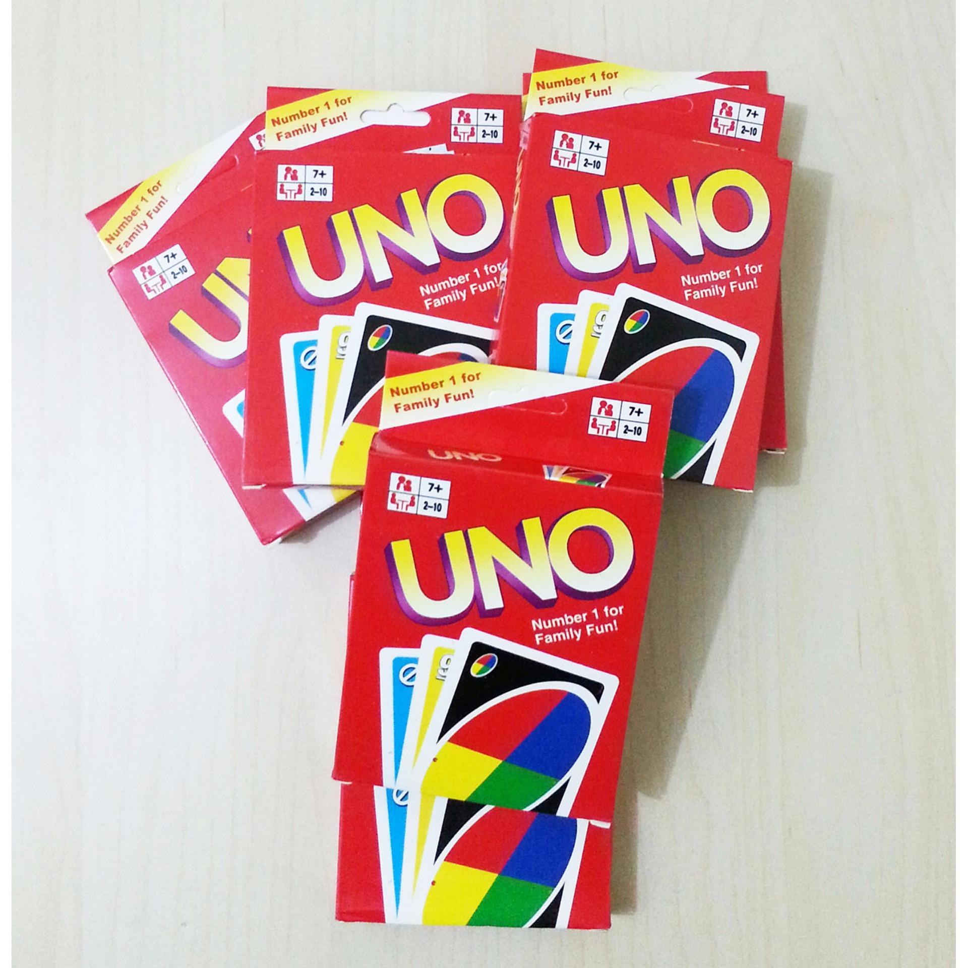 Uno Kartu Mainan Edukasi Uno Card