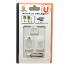 Beli Unomax Accessories Micro Nano Sim Adapter White Seken