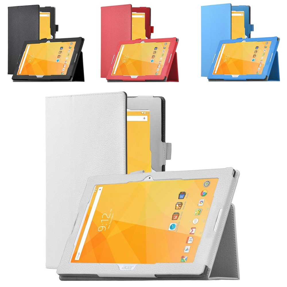 untuk Acer Iconia One 10 B3-A20 Case Slim-Book Stand Cover Case untuk Acer Iconia One 10 B3-A20 10.1 -Inch Tablet-Intl