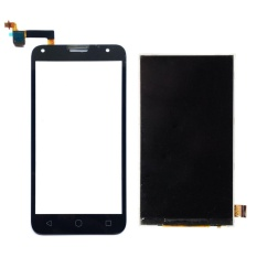 untuk Alcatel One Touch PIXI 4 5.0 OT 5010 OT5010 5010D 5010E 5010g OT-5010 Hitam Digitizer Layar Sentuh + LCD Display-Intl