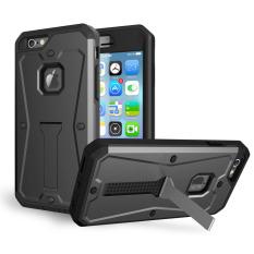 For Case GuluGuru Apple IPhone 6 6 S [Serba Bisa] Tahan Terhadap Udara 360 Tubuh Baju Besi Lengkap Cakupan Ponsel Case With Pelindung Layar + Pemegang Standarnya