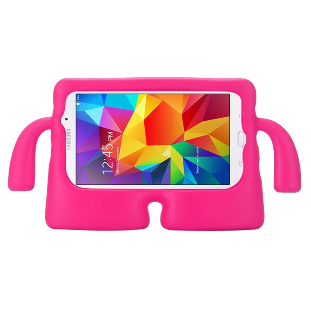 untuk Samsung Galaxy Tab 4 7.0/T230 dan Tab 3 Kids/Lite Universal Kecil Orang TV Model EVA Bumper Pelindung Case (Magenta) -Intl