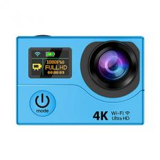 Upgrade EKEN H3 Action Camera Ultra HD 4 K Video Olahraga Kamera 170 Derajat Wide Angle 2 Dual Layar Remote Control Camera (Biru) -Intl