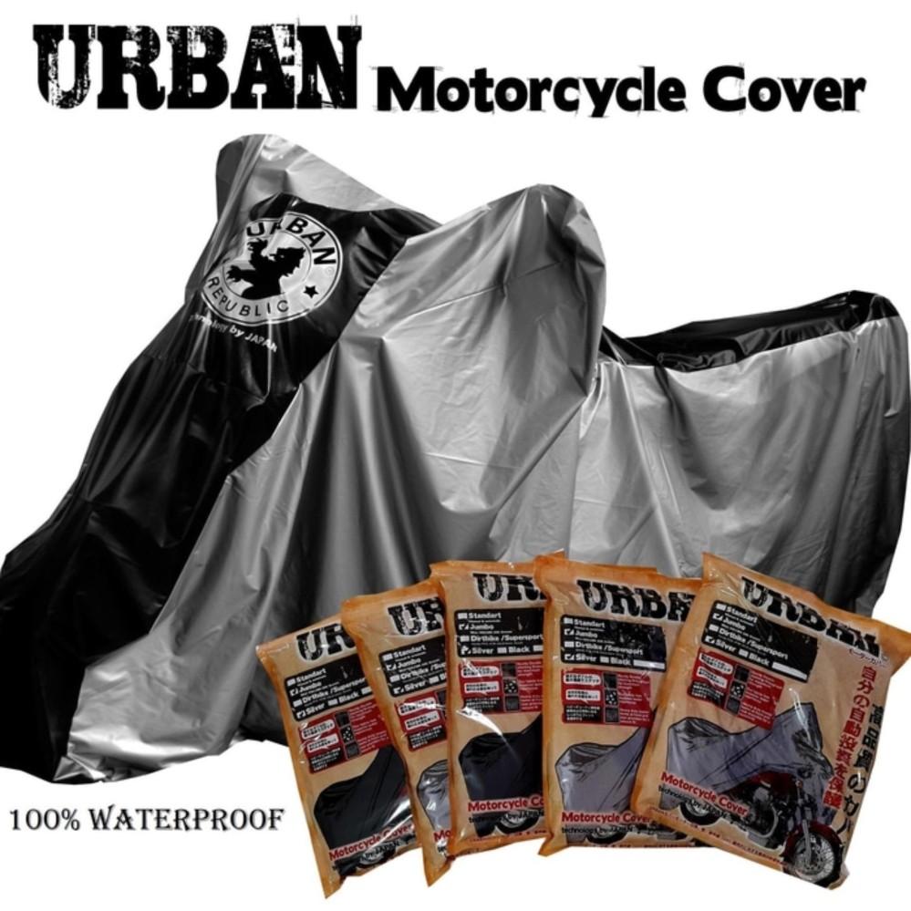 Urban Cover Motor NMAX Anti Air Mantel Selimut Urban Jumbo Original Waterproof Ninja 250, vixion, byson CB150R TIGER MEGA PRO VERZA SCORPIO AEROX NMAX PCX