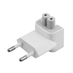 US to EU Plug Travel Charger Converter Adapter for Apple MacBook Pro / Air / iPad/ iPhone - intl