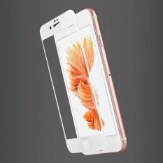 Jual Usams 3Mm 9H Carbon Fiber 3D Full Cover Tempered Glass For Iphone 7Plus White Intl Tiongkok Murah