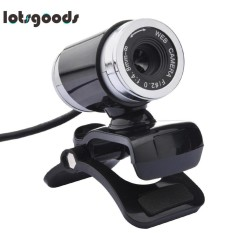 USB 12MP HD Webcam Komputer Kamera dengan MIC (Hitam)-Intl