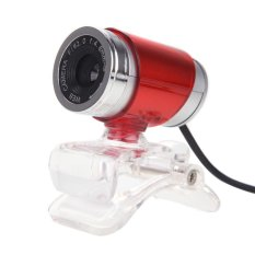 Toko Usb 12Mp Hd Webcam Computer Camera With Mic Red Intl Murah Hong Kong Sar Tiongkok