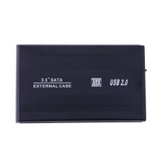 USB 2.0 8.89 Cm SATA Hard Drive Eksternal HDD Lampiran Case Hitam