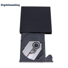 USB 2.0 Eksternal CD-RW Burner Drive CD DVD ROM Combo Writer untuk PC Komputer - intl