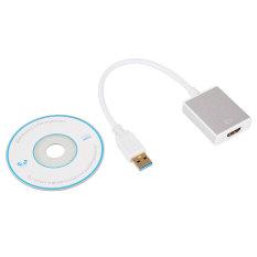 USB 3.0 untuk HDMI Konverter Kabel Grafis Video Adapter untuk PC HDTV HD 1080 P