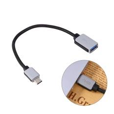 Cara Beli Usb 3 1 Type C Male Ke Usb 3 Type Female Adapter Otg Changer Kabel Sinkronisasi Data Kabel Kabel Intl