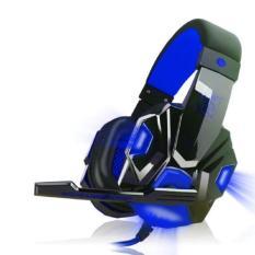 Headset Gaming Stereo dengan Mik USB 3.5mm untuk PC