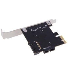Jual Usb 3 Pci E Pci Express Superspeed 2 Port 19 Pin Konektor Low Profile Intl Online
