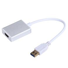 USB 3.0 untuk HDMI Adaptor Grafis Converter untuk HDTV LCD PC Laptop Audio Video