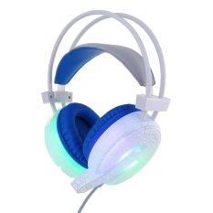 Usb 3 5Mm Wired Led Luminous Cr*Ck Gaming Headphone Earphone W Mic For Pc Intl Oem Diskon 30