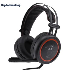USB 7.1 Channel Surround Stereo Gaming Headset Over Ear Headphone dengan Mikrofon-Intl