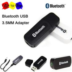 USB bluetooth Receiver audio music - Hitam