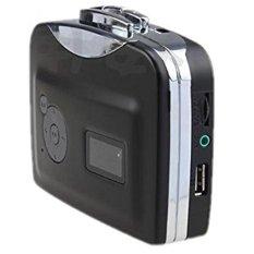 Toko Usb Casette Tape Player To Mp3 Converter Ec007C Black Dekat Sini