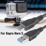 Diskon Besarusb Charger Untuk Transmisi Data Kabel Kawat Gopro Hero 5 Kamera Aksi Os838