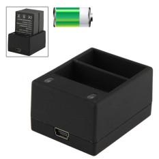 USB Ganda Baterai Perjalanan Pengisi Daya untuk GoPro HERO 3 +/HERO 3 AHBBP-301/302 Baterai-Internasional