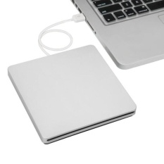 USB Eksternal Slot Di DVD CD RW Drive Burner Writer untuk MacBook Pro AIR-Internasional