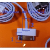 Miliki Segera Usb Kabel Data Iphone 4 4S Ipad 3 2 1 Charger Original Apple