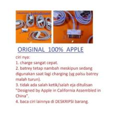 Perbandingan Harga Usb Kabel Data Iphone 4 4S Ipad 3 2 1 Charger Original Apple Di Di Yogyakarta