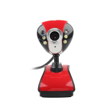 Jual Usb Led Night Vision Webcam Kamera Web Cam Branded