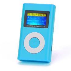 Jual Usb Mini Mp3 Player Dukungan Layar Lcd 32 Gb Micro Sd Tf Kartu Biru Intl Oem Online