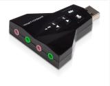 Jual Kartu Suara Usb 7 1 Channel 3D Audio Kartu Suara Mic Adapter 3 5Mm Jack Stereo Headset Untuk Pc Android Linux Mac Ios Original