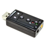 Review Usb Virtual 7 1 Channel Sound Card Usb External Adapter Portable Mic Dki Jakarta