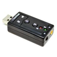 Harga Hemat Usb Virtual 7 1 Channel Sound Card Usb External Adapter Portable Mic