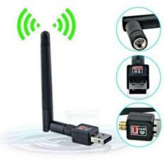 USB Wifi Dongle Receiver 802.11 N 300 Mbps Dilengkapi Antena dan CD Driver