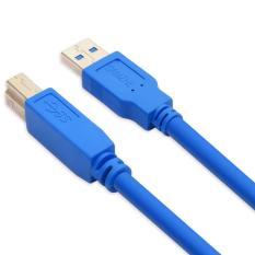 USB3.0 Kabel untuk Printer Konektor Emas Mesin Cetak Flashdisk Kabel Data 3.0 Versi Kecepatan