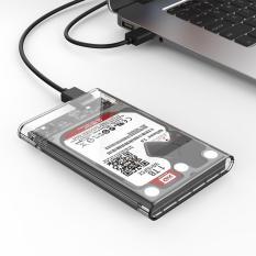 Ulasan Lengkap Tentang Usb3 Untuk Sata3 Eksternal Hard Drive Enclosure Hard Disk Kotak Penyimpanan Dengan Sata Ke Usb Kabel Konektor Dukungan Uasp Untuk 2 5 Inci Hdd Dan Ssd Sata Antarmuka Eksternal Gard Drive Clear