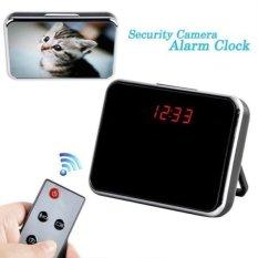 Berguna 5MP HD Cam Jam Alarm Kamera Video DVR DV Digital RecorderMotion Remote. Ini Bisa Digunakan Sebagai Monitor Keamanan Rumah-Intl