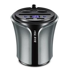 Harga Ustore 12 24V Car Cigarette Lighter Dual Usb For Phone Battery Voltage Tester Hsc108D Intl Yang Bagus