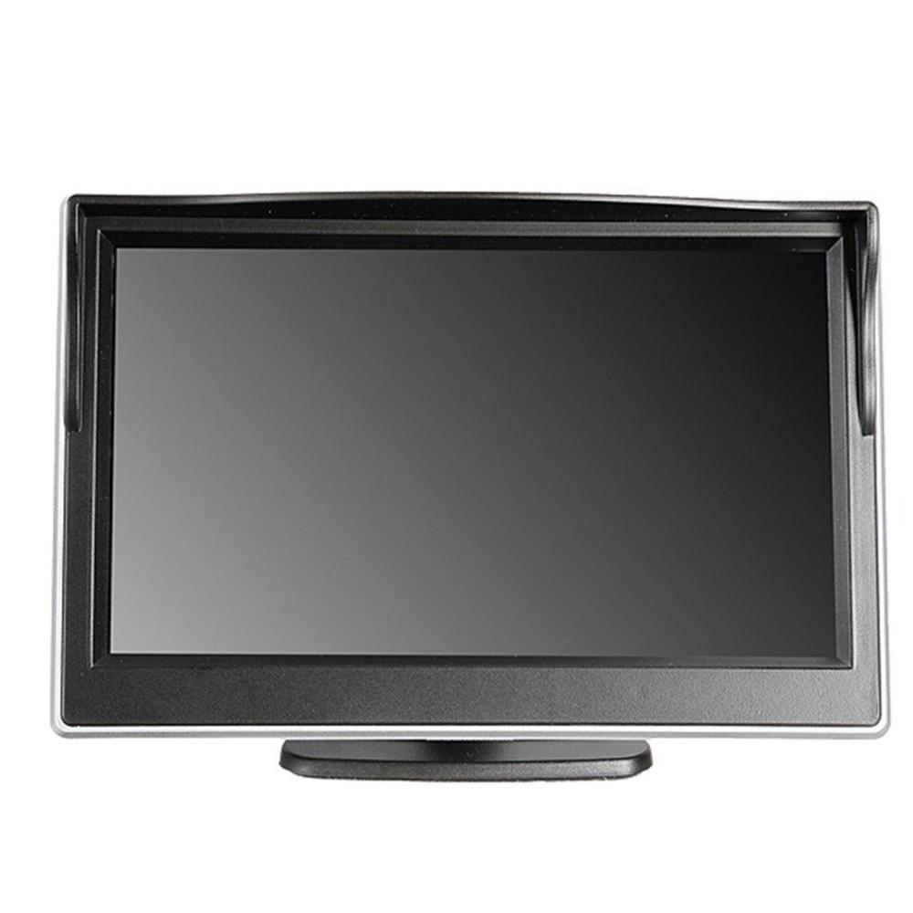 Ustore 5 Inch Mobil Tft Lcd Hd Digital 800 480 Tampilan Layar Rear View Cermin Monitor Hitam Intl Terbaru