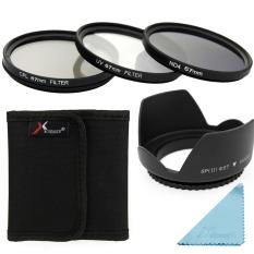 Sinar UV Kopral ND4 Saring + Lensa Kap 67 Mm untuk Canon 1200D 1100D 700D 70D 60D 50D