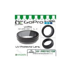 UV Lens/Lensa Cap Cover Protection/Protector For Gopro Hero 3- 3+- 4