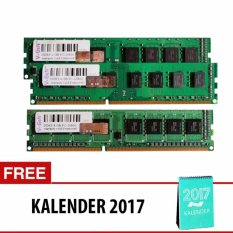 V-GEN DDR3 Long-DIMM 1.5V Unbuffered 240pin [8GB PC-12800/1600 Mhz] + Kalender