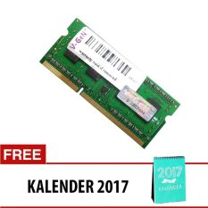 V-GEN DDR4 SO-DIMM [4GB PC-17000/2133 Mhz] + Free Kalender