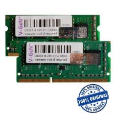 V-Gen Sodimm 8GB DDR3L PC12800 - VGen Memori Notebook Low Voltage