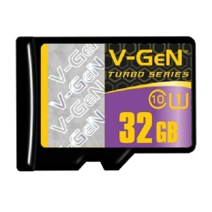 V-Gen Memory Micro Sd 32gb Class 10 Turbo Series - Non Adapter By Hagakomputer.