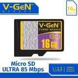 Harga V Gen Micro Sd 16Gb Turbo Class 10 Memory Card Vgen Dki Jakarta