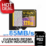 Harga V Gen Microsdhc 128Gb Turbo 85Mb S Class10 Ush 1 Micro Sd Adapter Memory Card V Gen Asli