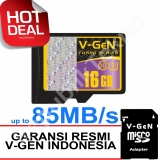 Review V Gen Microsdhc 16Gb Turbo 85Mb S Class10 Ush 1 Micro Gratis Sd Adapter Memory Card Terbaru