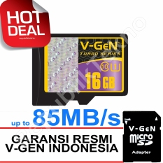Beli V Gen Microsdhc 16Gb Turbo 85Mb S Class10 Ush 1 Micro Gratis Sd Adapter Memory Card Cicil