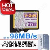 Beli V Gen Microsdxc 32Gb Hyper 98Mb S Class10 Ush 3 Micro Gratis Sd Adapter Memory Card Seken